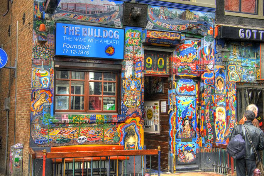 Amsterdam Coffee Shops Bulldog