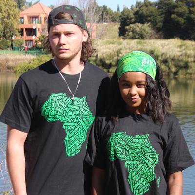 African Cannabis Tshirt