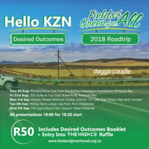 Desired Outcomes KZN - The Dagga Couple