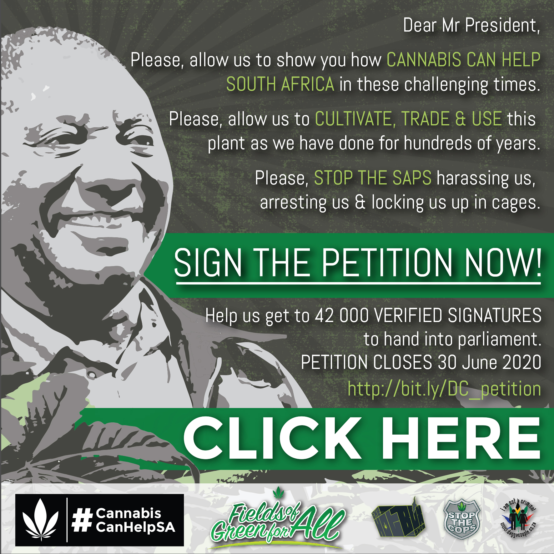 Sign the Fields of Green for all Petition